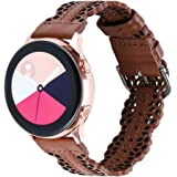 Glebo Band Compatible with Galaxy Watch 3 Band 41mm/Samsung Active 2 Watch Band 40mm 44mm/Active 40mm/Galaxy Watch 42mm…