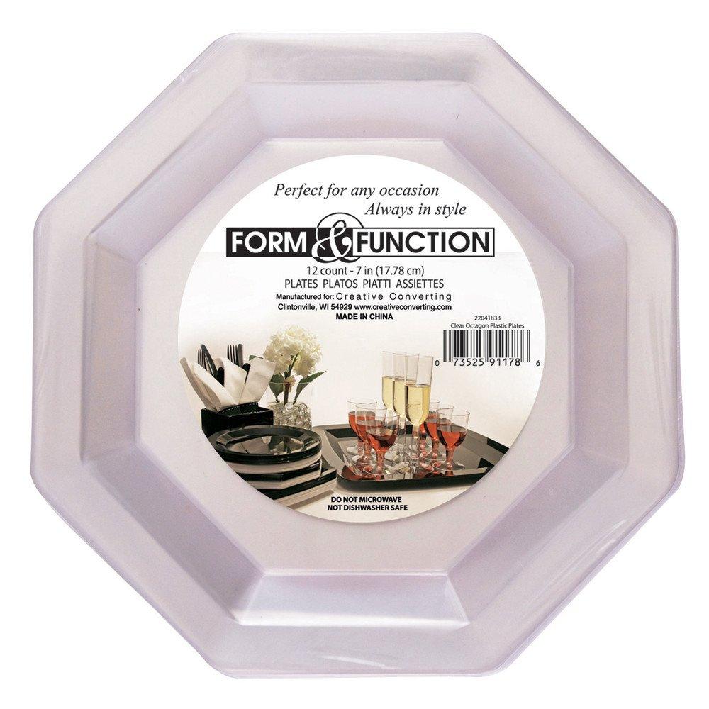 Creative Converting 22327253 Plastic Banquet Plate, 10.25