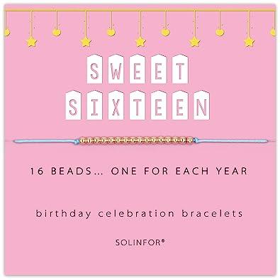 Amazon.com: SOLINFOR Regalos de cumpleaños 16 para niñas ...