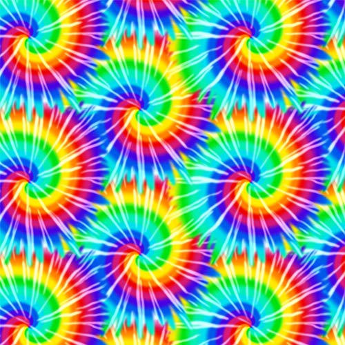 GRAPHICS & MORE Tie Dye Pattern Premium Roll Gift Wrap Wrapping Paper -