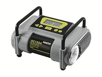 Pro-User AC150A 28101 Compresor de aire totalmente automática con 140W/100 psi/25L/min: Amazon.es: Coche y moto