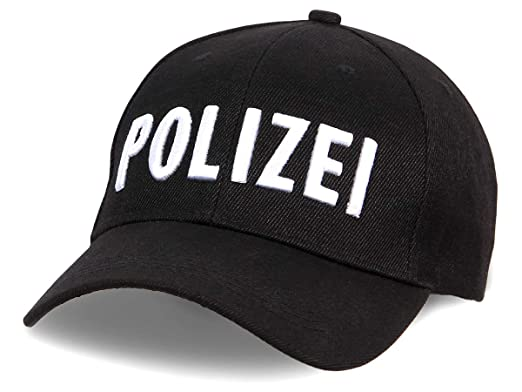 Alsino - Gorra de béisbol de policía, Ajustable, 100% algodón Cap ...