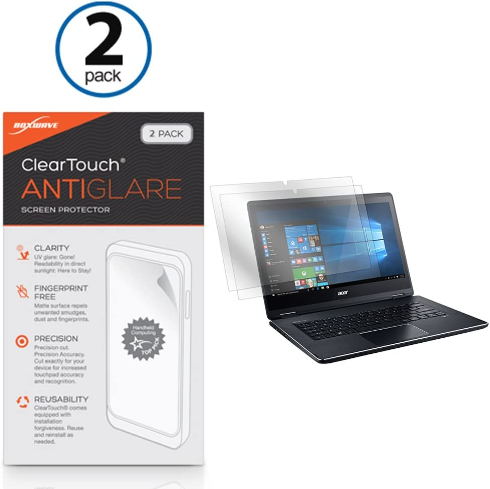 Acer Aspire R 14 (R5-471T) Screen Protector, BoxWave [ClearTouch Anti-Glare] Anti-Fingerprint, Scratch Proof Matte Film Shield for Acer Aspire R 14 (5-471T)