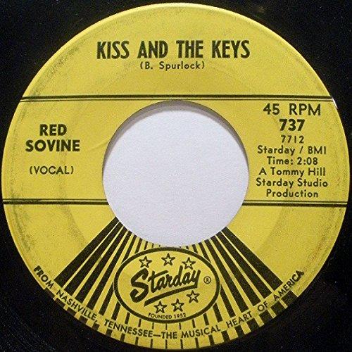 (Red Sovine Near Mint Original 7 Inch 45 rpm - Kiss And The Keys / Giddyup Go - Starday Records 1965)