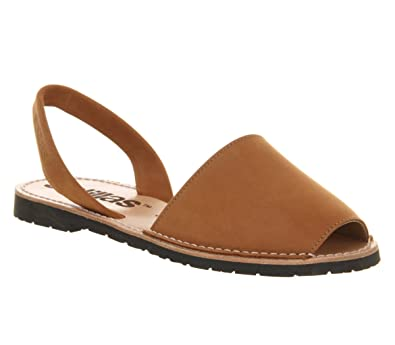 Solillas , Damen Sandalen Braun Braun - Tan Leather