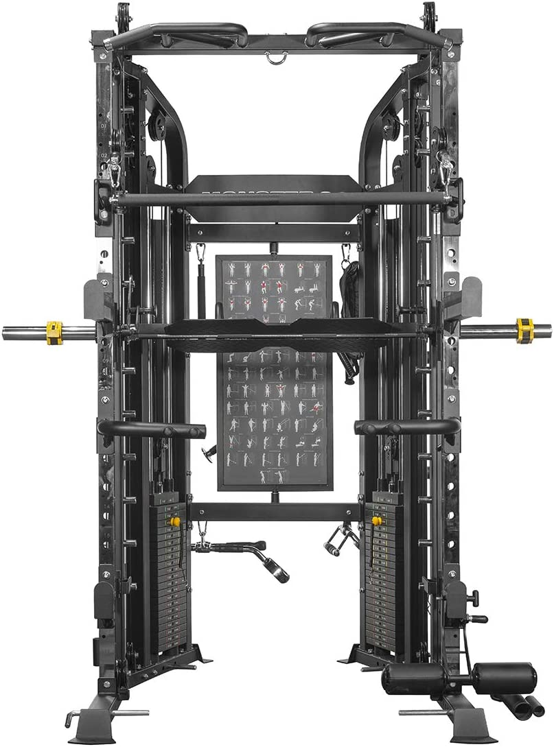 FORCE USA Monster G6 Power Rack, Functional Trainer Smith Machine Combo. New for 2019