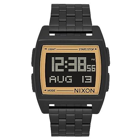 Nixon Reloj Hombre de Digital con Correa en Acero Inoxidable A1107 1031-00