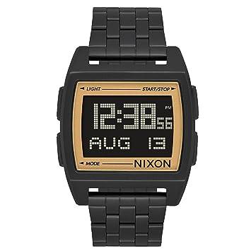Nixon Reloj Hombre de Digital con Correa en Acero Inoxidable A1107 1031-00: Amazon.es: Relojes