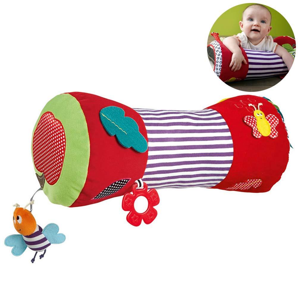 Pywee El coj/ín del Rodillo de Arrastre del beb/é admite el Rompecabezas del Rodillo de Arrastre Juguete de Escalada de Fitness Juguete de la Aptitud del beb/é reci/én Nacido