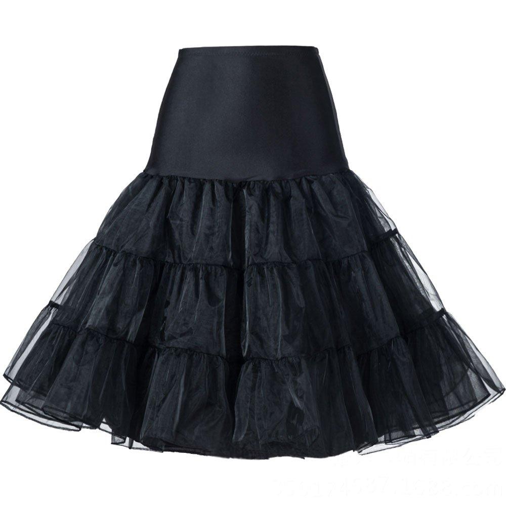 Oyeahbridal Women Vintage 50s Tutu Skirts Petticoat Rockabilly Crinoline Underskirt Oyeahbridal Co. Ltd