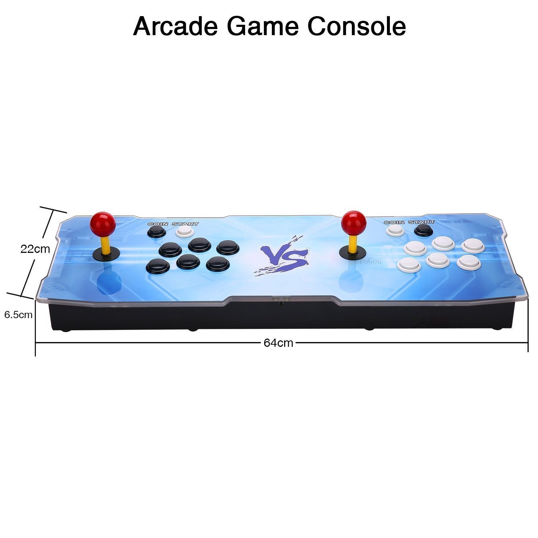 J-Deal [1500 HD Arcade Games Arcade Video Game Console 1500 Retro Games Pandora's Box 9 Arcade Machine Double Arcade Joystick Built-in Speaker 1280x720 Full HD Mini Arcade by J-Deal (Image #4)