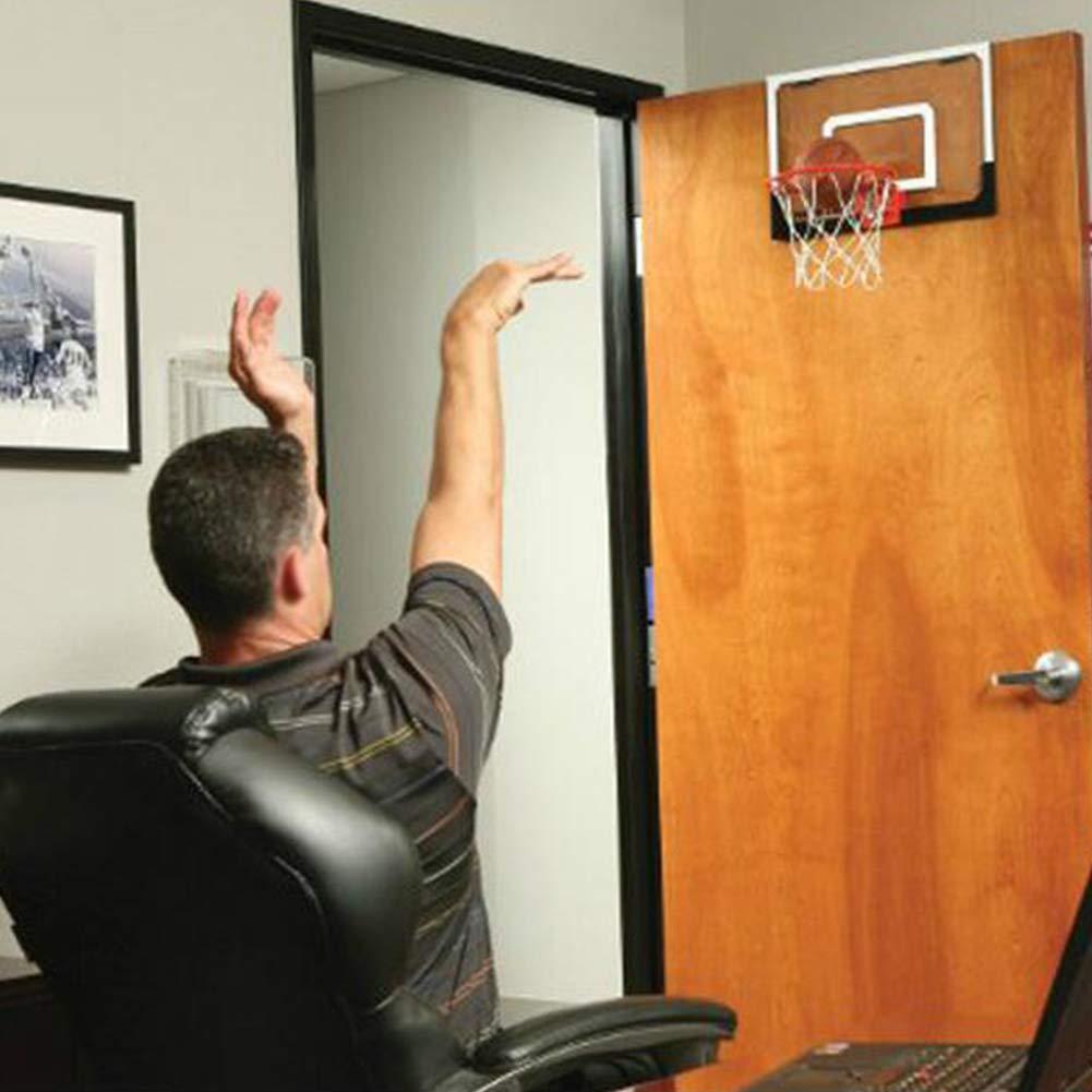 Flox Mini Basketball Hoop For Door 45 5x30 5cm Bedroom Basketball Hoop Indoors Set With Basketball And Inflator Sports Outdoors Basketball