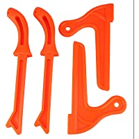 4Pcs Safety Push Sticks, Plastic Woodworking Protective Hand Saw Push Sticks Tool for Carpentry and Use on Table Saws…