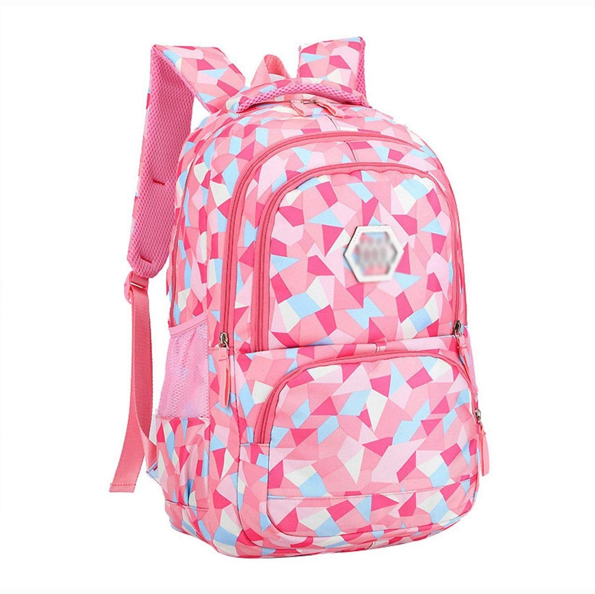 Amazon.com: XHHWZB Waterproof School Backpack for Girls Middle School Cute Bookbag Daypack for Women Rhombus (Color : Pink, Size : Big): Office Products