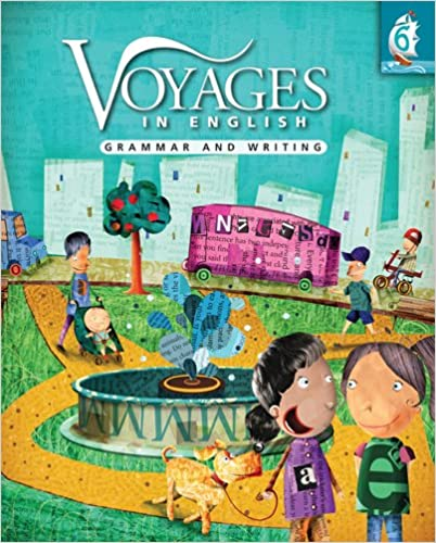 Amazon.com: Voyages in English: Grammar and Writing, Grade Level 6 ...