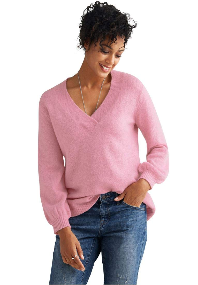Ellos Women's Plus Size Oversized Pullover Sweater