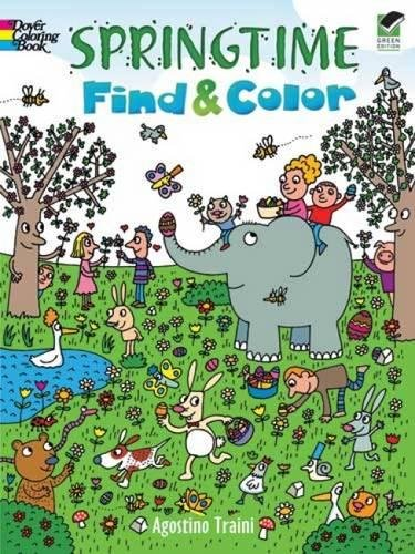 - Springtime Find and Color (Dover Children's Activity Books)