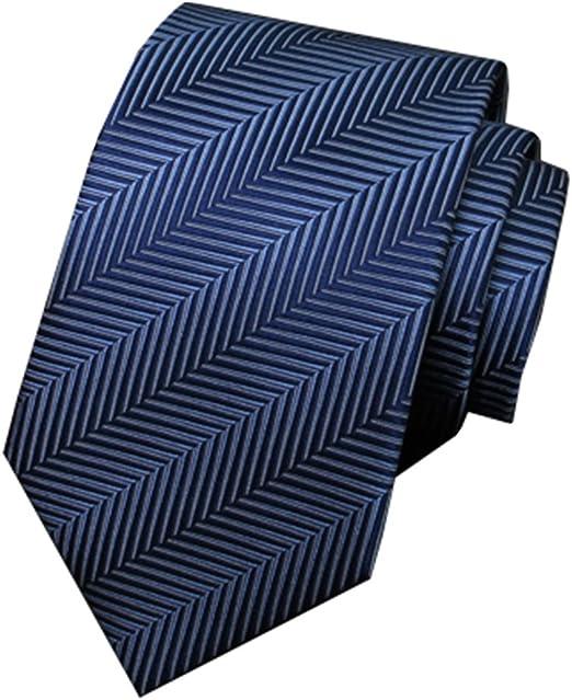 CuteLife Corbata Clásica para Hombre Negocio para Hombres Versión ...