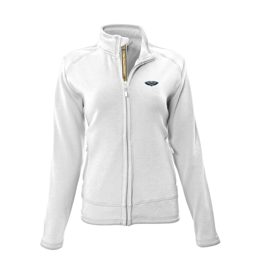 NBA ladiestranquilチームスクリプトFull Zip L ホワイト   B01MTU8C0J