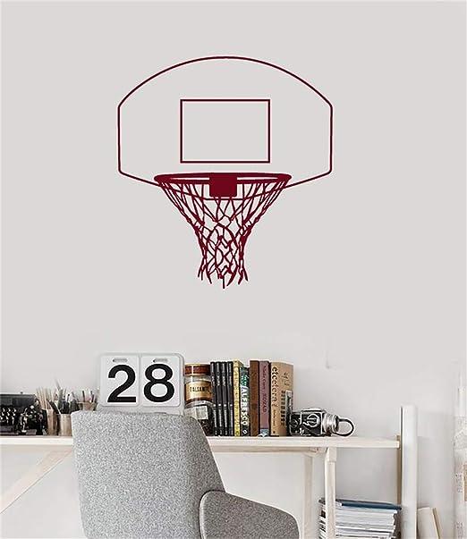 pegatinas de pared infantiles Baloncesto canasta Basket Net ...