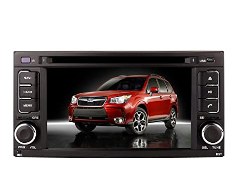"7"" Touchscreen Monitor Car GPS Navigation System for Subaru Forester 2007 2008 2009 2010 2011"