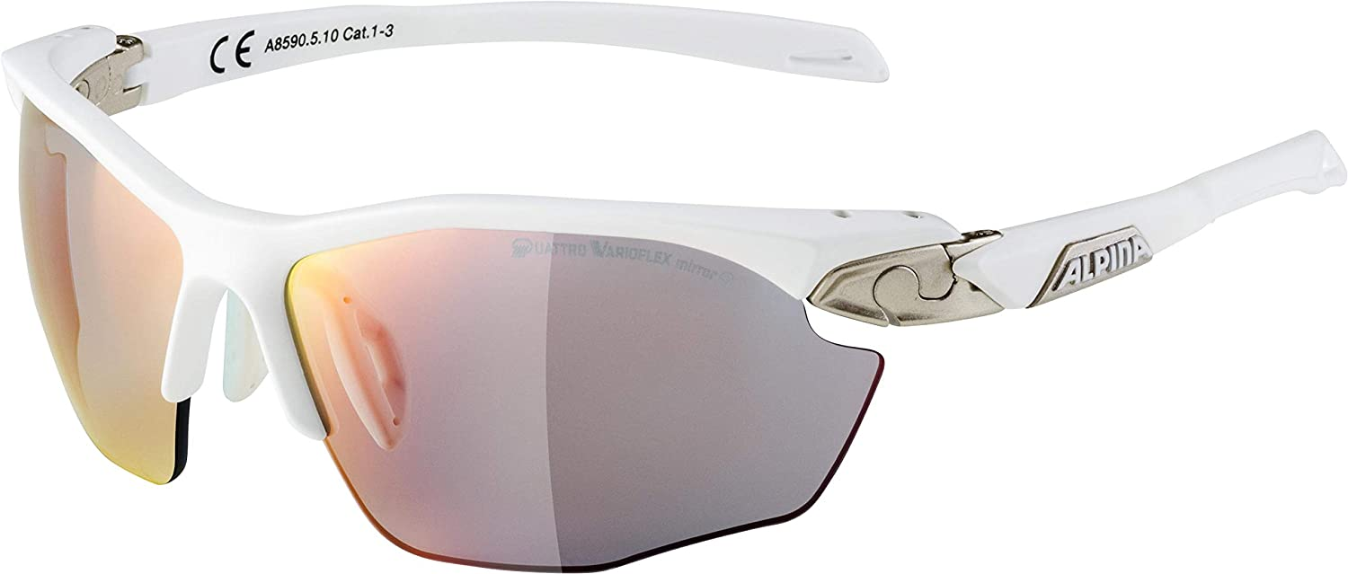 ALPINA Erwachsene Twist Five HR QVM+ Sportbrille