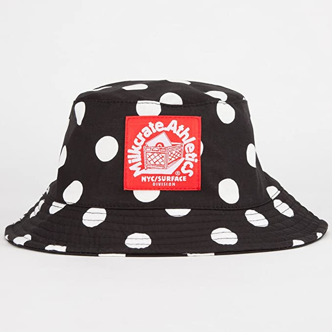 3c5ee03bed6 Image Unavailable. Image not available for. Color  MILKCRATE ATHLETICS Dot Mens  Bucket Hat