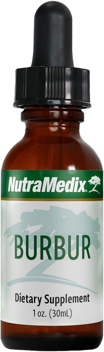 NutraMedix Burbur Detox - May Help Resolve Herx-Like Reactions - Desmodium molliculum Leaf Extract Drops (1oz / 30ml)