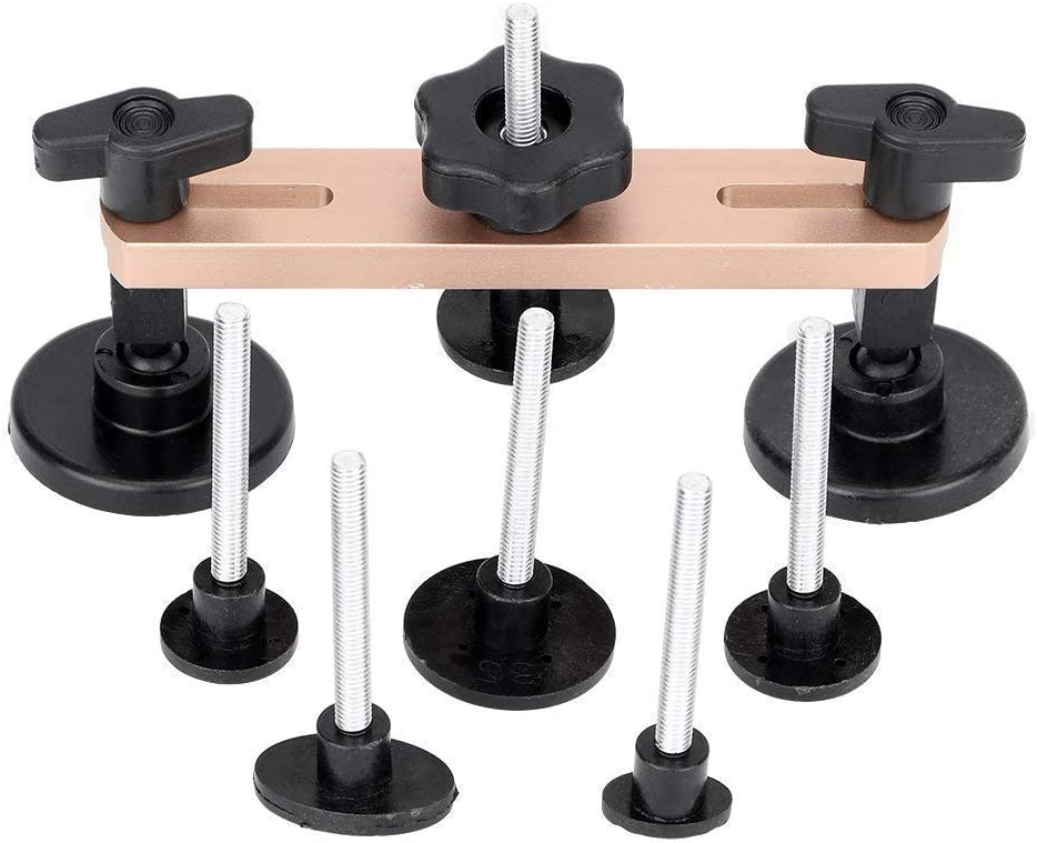 IHOMKIT Upgraded Stainless Dent Puller Bridge Pop Sets Paintless Dent Removal Repair Tool