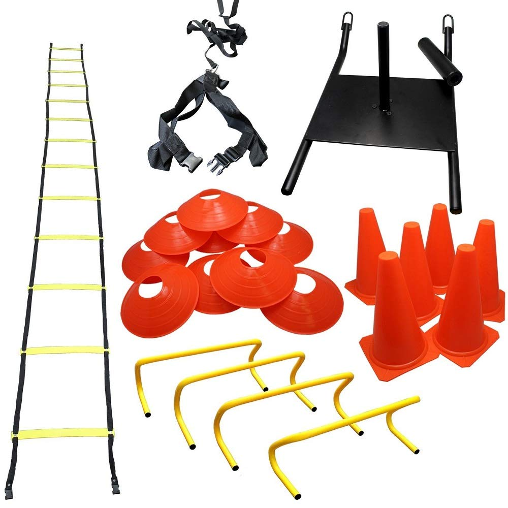 Bright Sun 1 Pack Complate Training Kit Increase Strength and Speed Agility #BDMN by Bright Sun