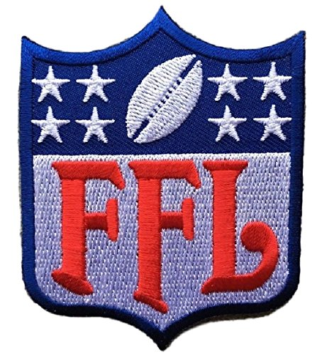 Fantasy Football FFL Patch Houston (Perfect For Jersey, Award, Trophy or Draft)
