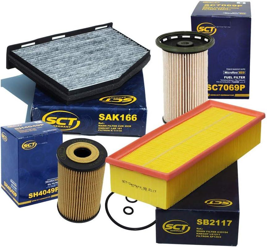 SCT Germany 166 Aktivkohlefilter
