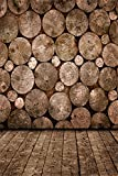 3x5ft Lfeey Vinyl Thin Folded Wood Theme Photography Background Tree-ring Wall Backdrops Studio Photo Props Customized 1mx1.5m offers