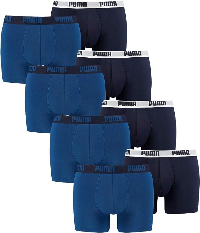 PUMA 521015001 - Bóxer para hombre, calzoncillos, paquete de 8 ...