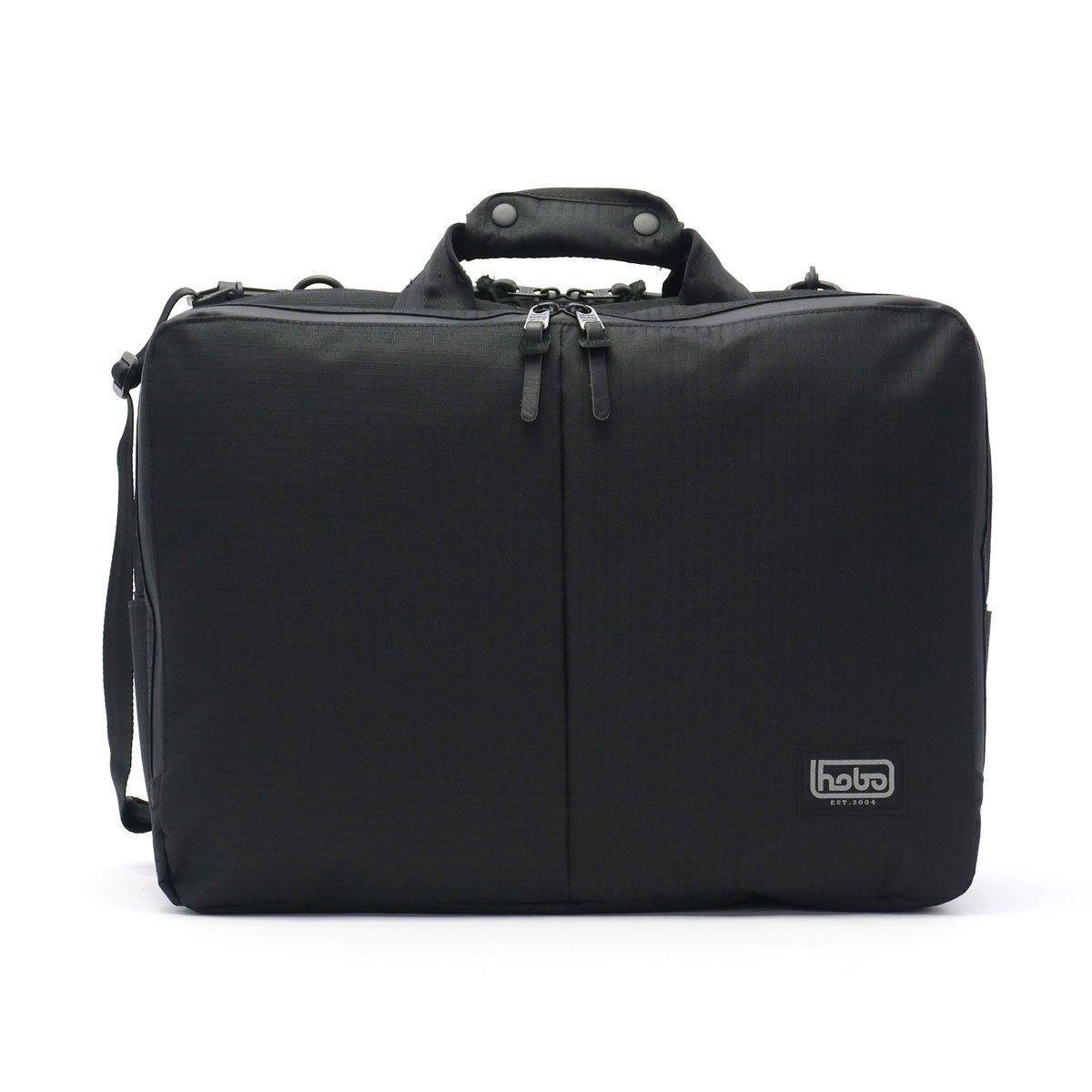 [ホーボー]hobo Polyester Ripstop 3Way Briefcase 3Pocket 3WAY ブリーフケース HB-BG2629 B075N8ND3T ブラック(019)