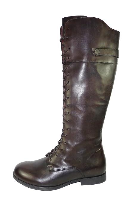 BIRKENSTOCK LONGFORD 1001053 leather scarpe stivali pelle (EUR 38 ... 04bdbe16ffc