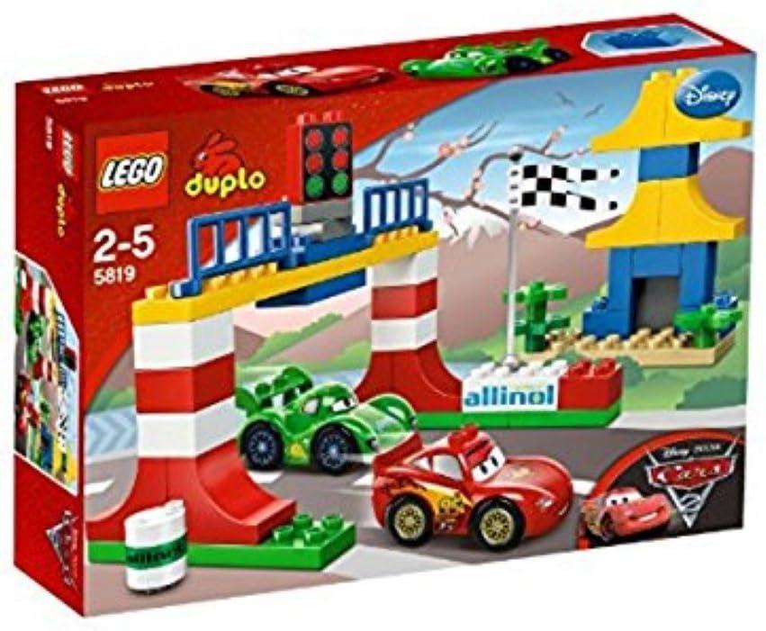 Amazon Com Lego Duplo Disney Pixar Cars 2 Tokyo Racing 5819 Toys Games