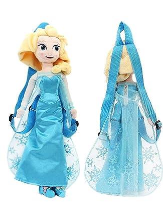 Grande Poupée sac a dos ELSA la reine des neiges 50cm: Amazon.es: Juguetes y juegos