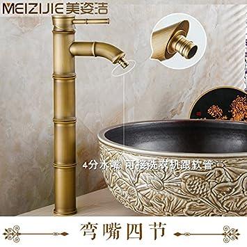Sadasd Moderne Badezimmer Waschbecken Wasserhahn Kupfer Bunte Led