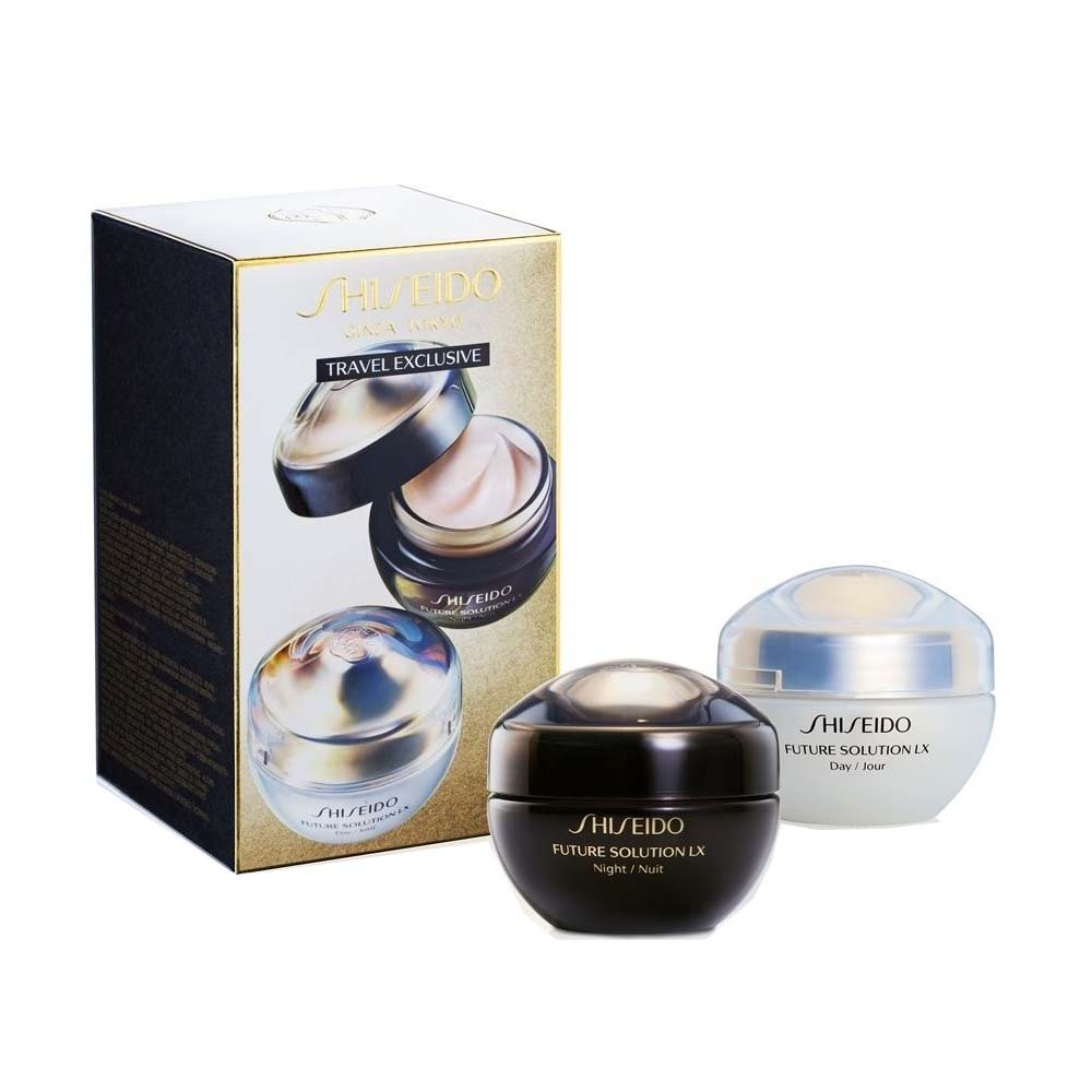 Shiseido Travel Exclusive Total Protective & Regenerating Day & Night Set