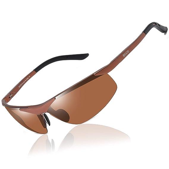 Duco Sport 6806S Gafas de sol polarizadas para hombre Braun, Braun: Amazon.es: Ropa y accesorios