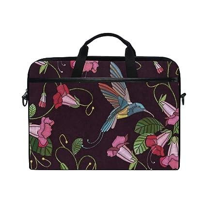 4f24b81a96f50 Coleosse Embroidery 14 15inch Laptop Case Laptop Shoulder Bag Notebook  Sleeve Handbag Computer Tablet Briefcase Carrying