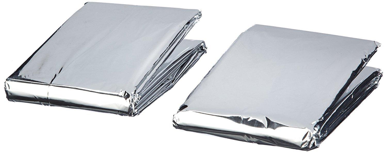 Am-Tech Lot de 2 couvertures de secours Flostream Ltd S4680