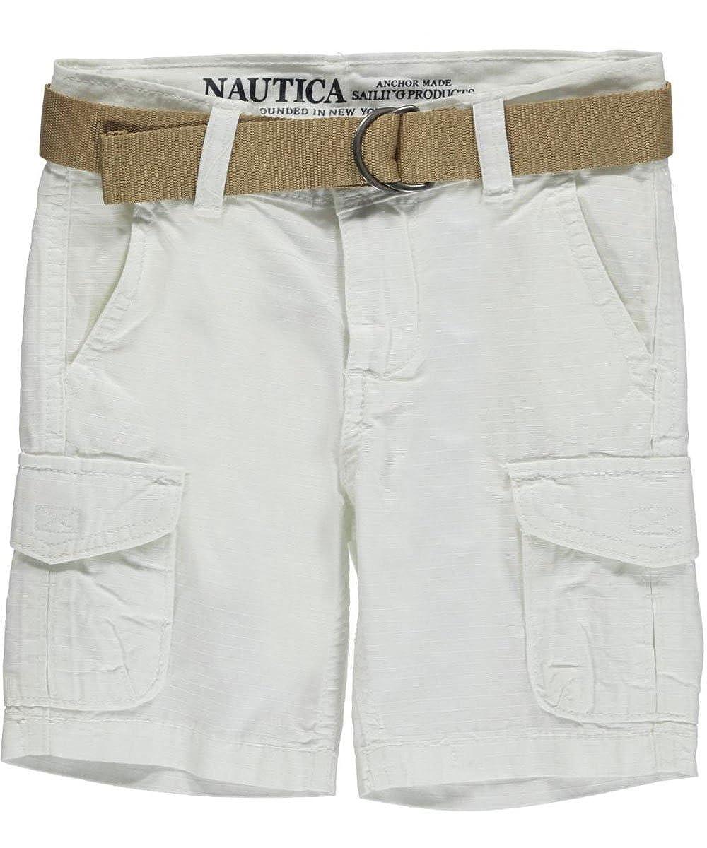 bc553707f Amazon.com: Nautica Boys 8-20 Belted Cargo Short: Clothing