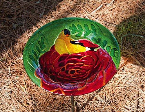 Summer Song Birdbath by Evergreen Flag & Garden
