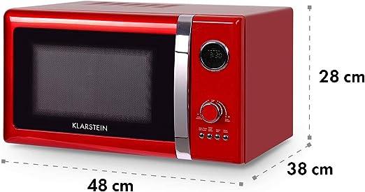 Klarstein Fine Dinesty - Horno microondas con grill, Microondas 2 ...