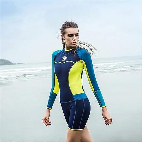 NUO-Z Traje de Neopreno para Surf de 1.5 mm para Mujeres Que ...