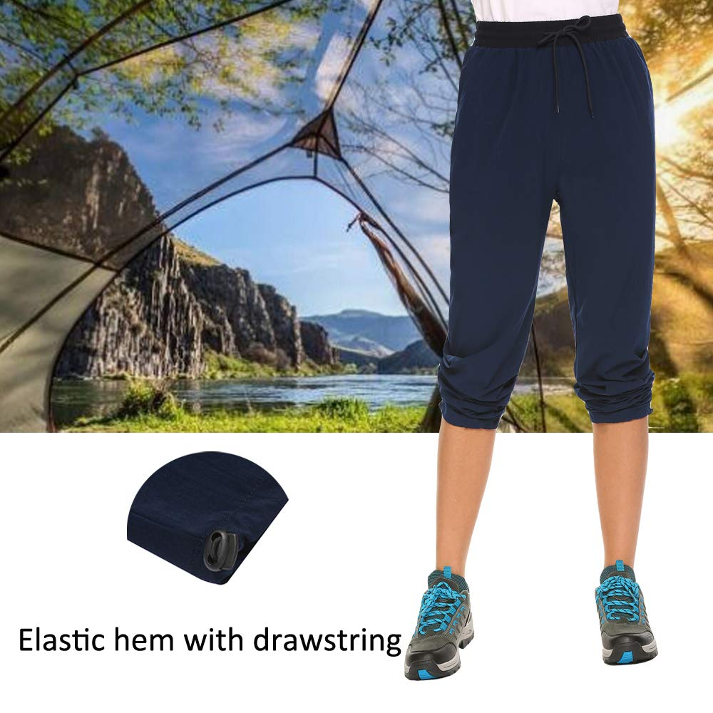INVOLAND Womens Hiking Cargo Pants Outdoor Quick Drying Convertible Pants