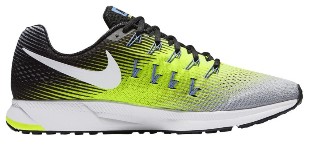 [ナイキ] Nike Air Zoom Pegasus 33 - メンズ ランニング [並行輸入品] B072PTFXGV US08.5 Matte Silver/Volt/Black/White
