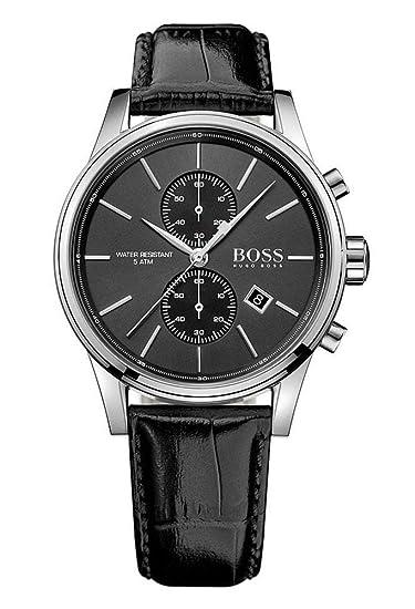 Reloj con mecanismo de cuarzo para hombre Hugo Boss 1513279, cronógrafo y correa de piel.: Hugo Boss: Amazon.es: Relojes